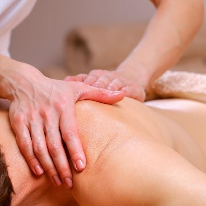Beneficios de los masajes terapéuticos