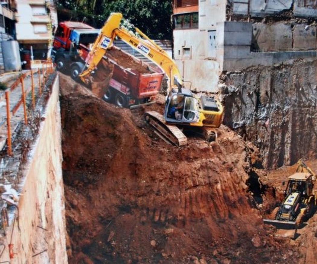 ¿Qué son las excavaciones a cielo abierto?