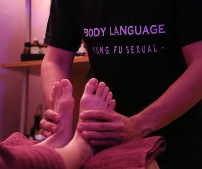 Quiromasaje especial para pies en Body Language