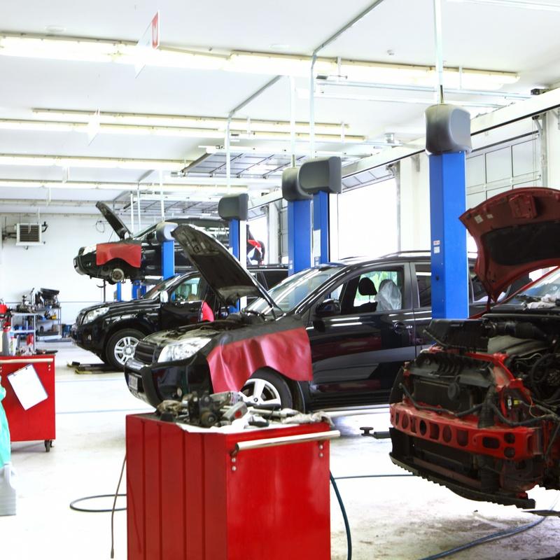 Servicios mecánicos: Servicios de Centro Motor