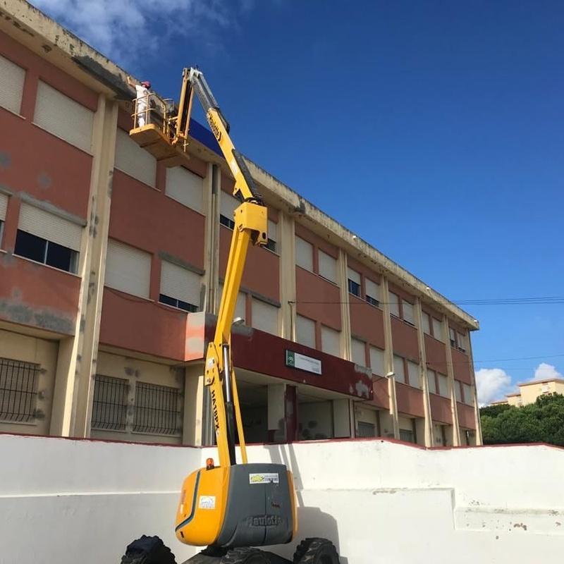 Impermeabilizaciones de cubiertas y fachadas: Servicios de Pinturas Ortiz