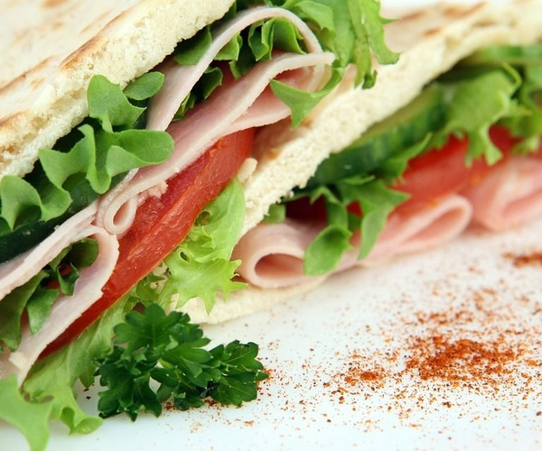 Pan de pita libanés