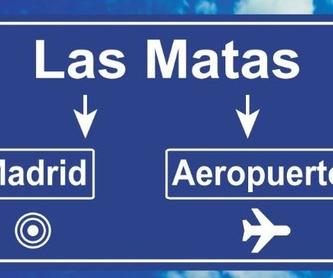 Nuestro servicio de taxi en Las Matas: Servicios de Taxi Los Peñascales