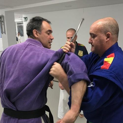Defensa personal policial en Tarragona