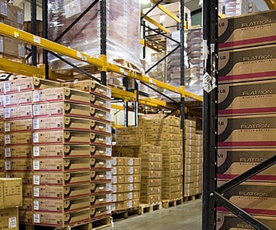 Estanterías para almacenes paletizados
