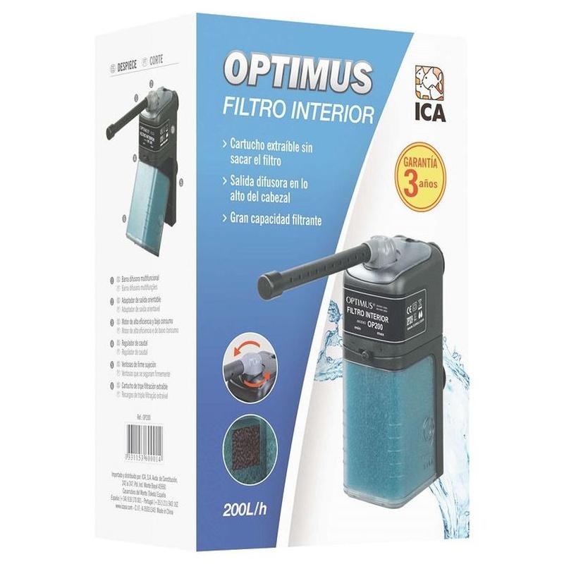 FILTRO INTERIOR OPTIMUS 200