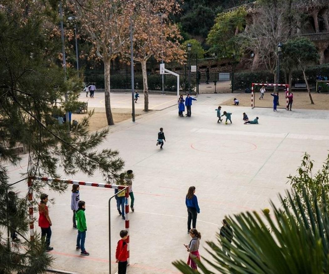 La importancia del patio en la escuela