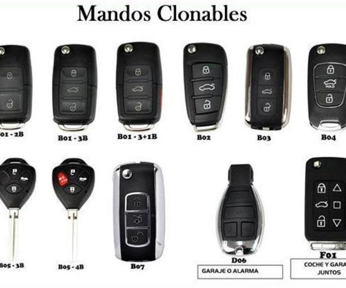 MANDOS DE COCHES SEVILLA