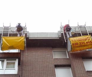 rehabilitación de aleros en Santander - Torrelavega