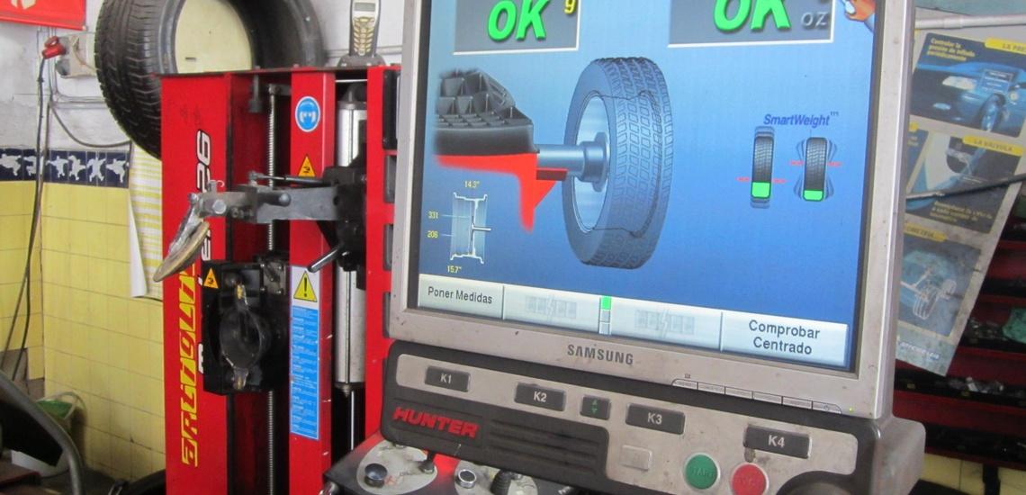 Alineacion de direccion por ordenador, equilibrado electronico de ruedas Big Sur Murcia