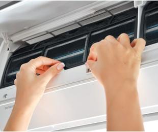Limpieza básica de tu aparato de aire acondicionado