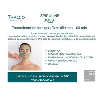 Tratamiento Antiarrugas Detoxificante - 60 min