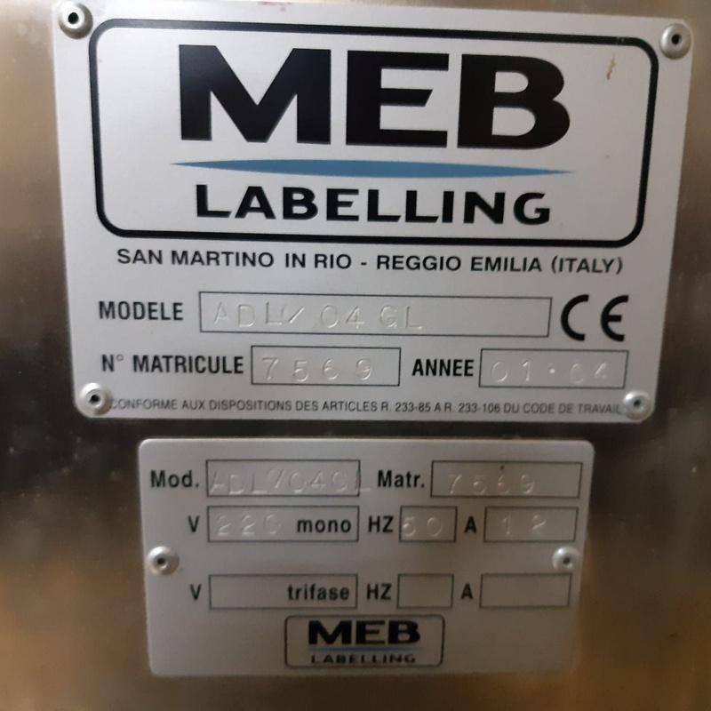 Precintadora / Etiquetadora de 1000 botellas por hora:  de MAQUIMUR