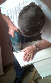 Proceso de fabricación de mueble empotrado