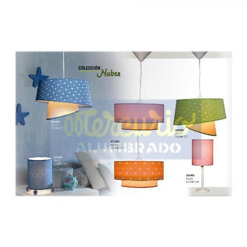 Colección Nubes: Productos de Mercurio Alumbrado