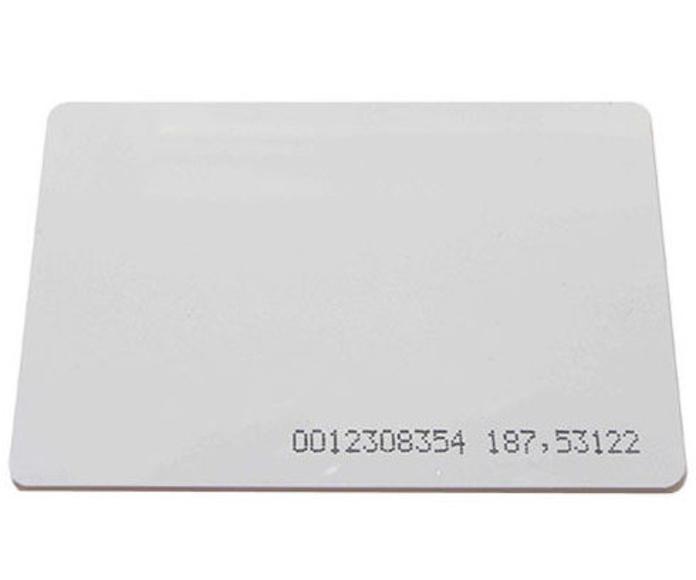 Tarjeta de proximidad por radiofrecuencia.: Productos y Servicios de CCTV BURGOS