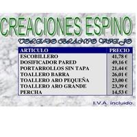 Creaciones Espino: Productos y servicios de Eurofon