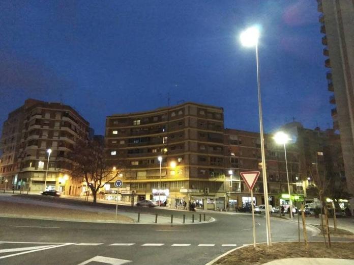 Iluminación publica Abundio García Alicante