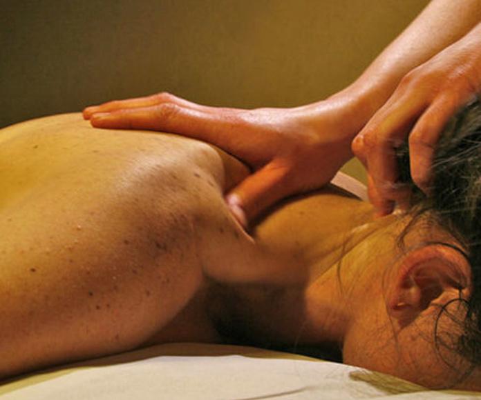 Masaje antiestrés: Productos y Servicios de Centro de Masajes Fernanda