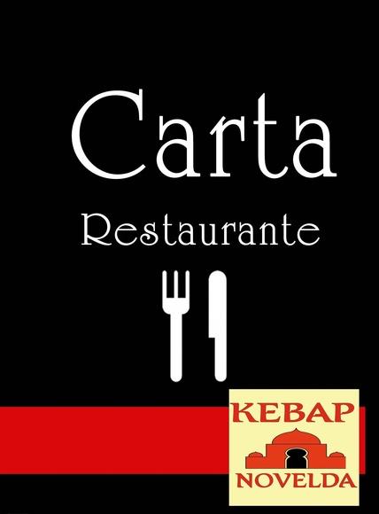 CARTA EN RESTAURANTE: Nuestras cartas de Restaurante Kebap Novelda
