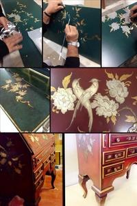 Restauración del mueble, marqueteria artesans del moble