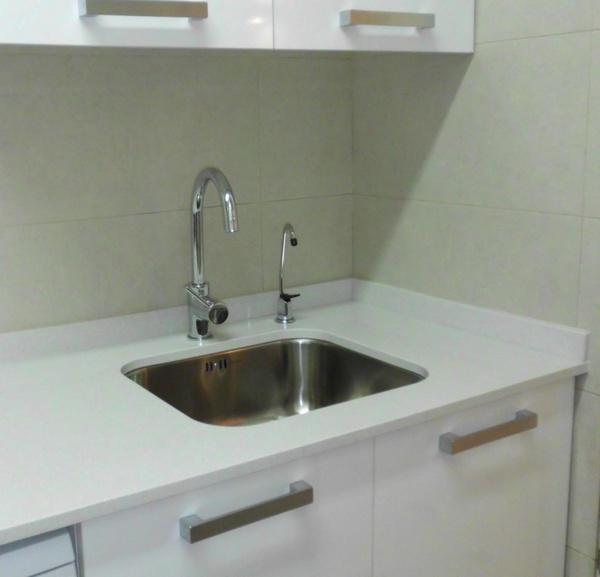 Instalar y cambiar fregadero de cocina