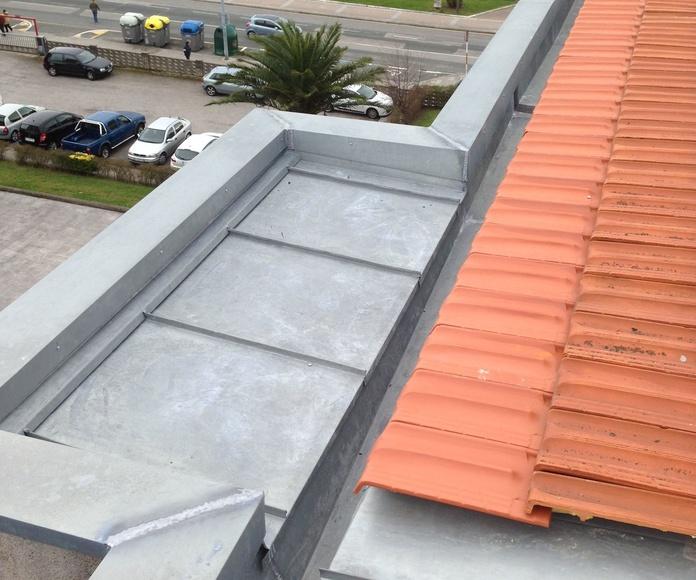 Rehabilitación de tejados y cubiertas Santander-Torrelavega.