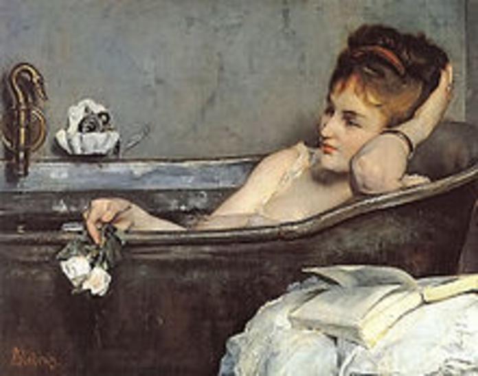 Alfred Stevens. El baño (1867).
