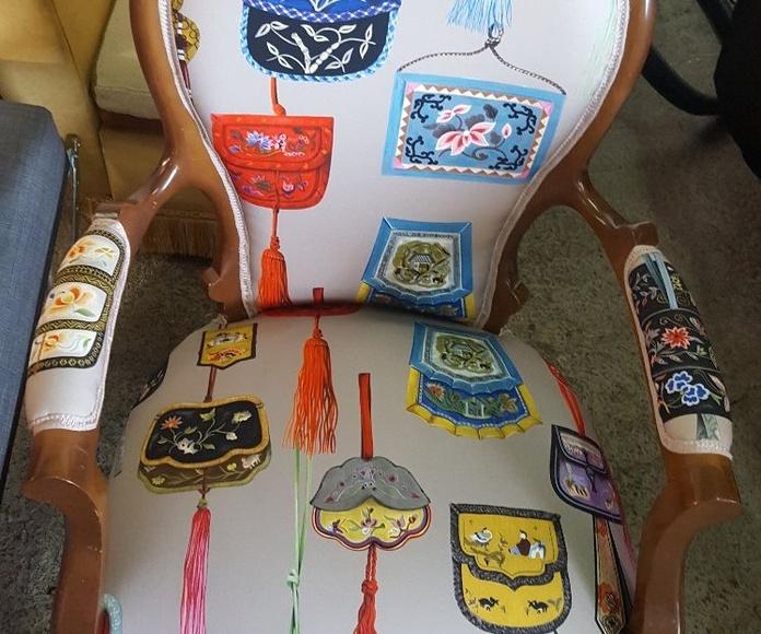 Tapicería de muebles de interior y exterior: Servicios de Tapicería La Bigornia