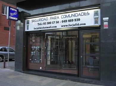 Puertas de portería en Barcelona