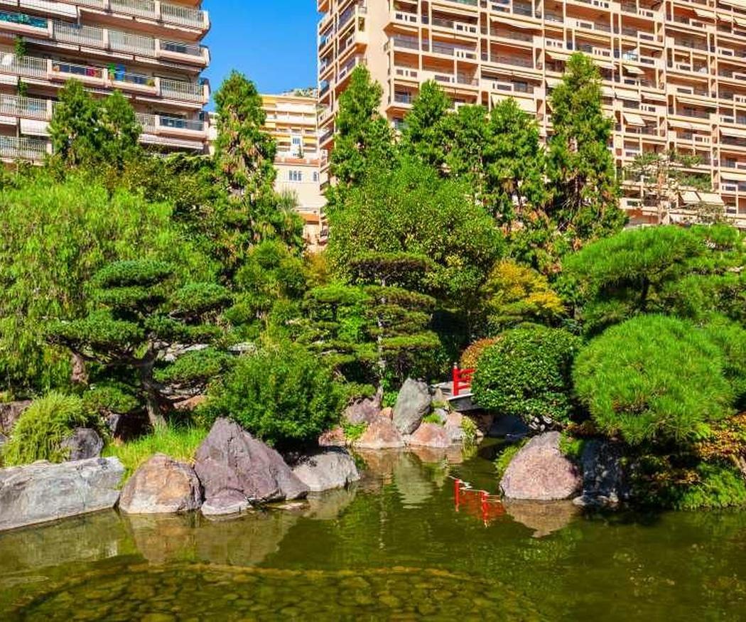 Los estanques de jardín
