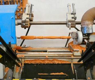 Mecanizados: Productos y servicios de Torneado y Mecanizado de Madera Tnim