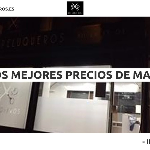 Peluquería unisex en Embajadores Madrid | R&D Peluqueros