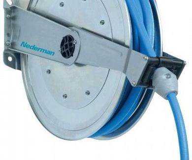 Enrolladores de manguera y cable retráctiles para uso industrial y profesionales - Nederman Aragón