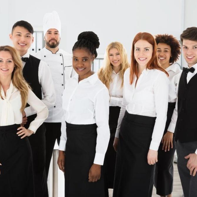 Por qué es tan importante tener un buen uniforme en hostelería