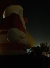 Santa claus iluminado