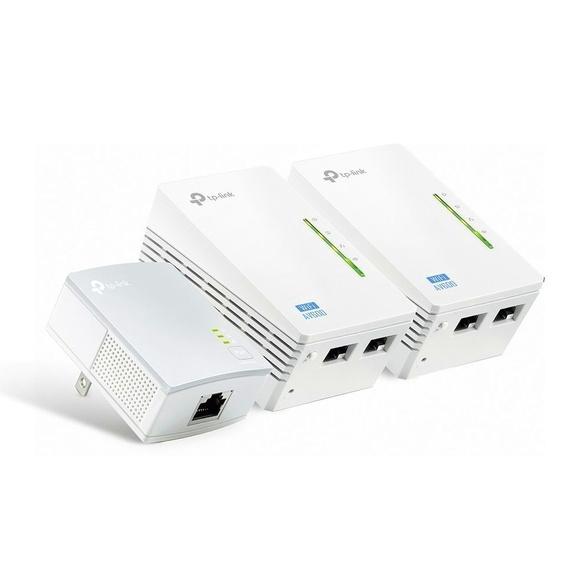 PLC Kit de 3 Powerline AV600 con Wi-Fi: Nuestros productos de Sonovisión Parla