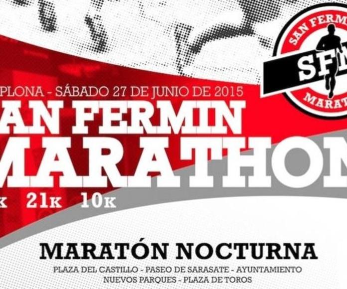 San Fermín Marathon - 27 de Junio 2015, en la ciudad de Pamplona