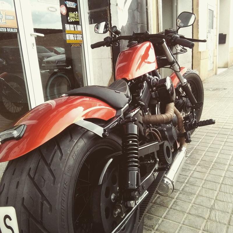 Personalización motos, customizacion Harley Davidson, transformación Sporters,Custom, Harley Davidson Valencia