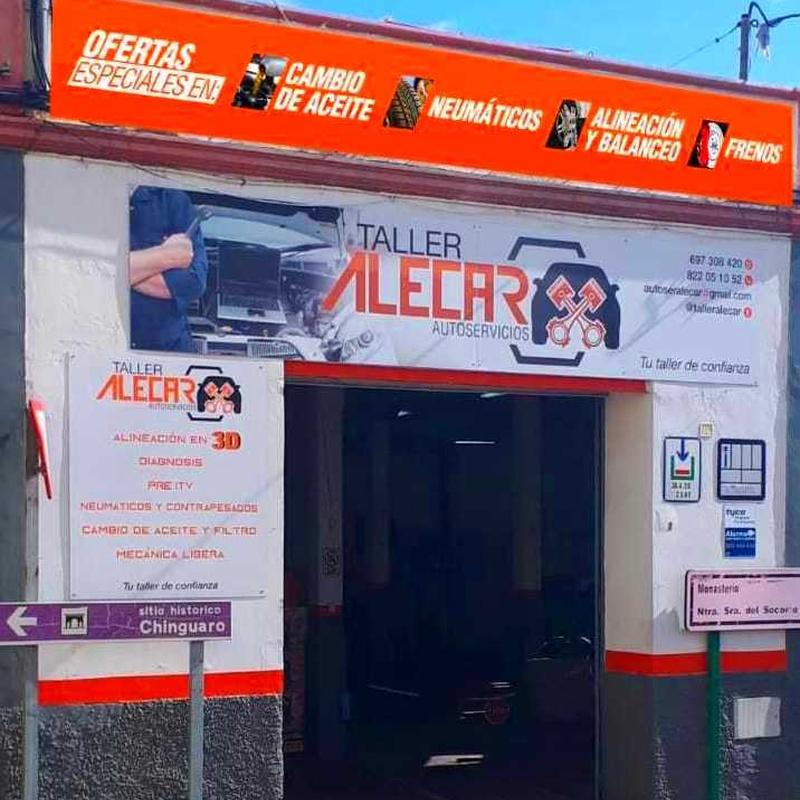 Autotaller Alecar ¡Tu taller de confianza!: Servicios de Autoservicios Alecar  Tu Taller de Confianza