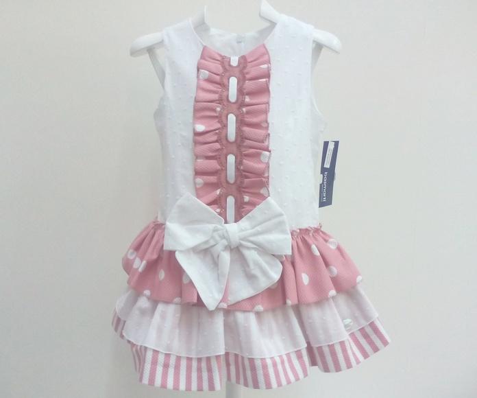 Vestido niña de BASMARTI
