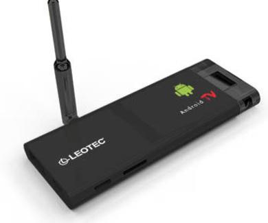 LEOTEC ANDROID TV 4gb Dual Core Negro 1080p HDMI (Soporta MicroSD)