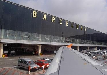 Traslado en taxi al aeropuerto de Barcelona