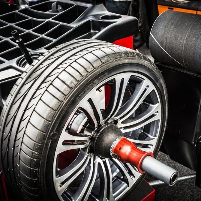 El equilibrado de neumáticos