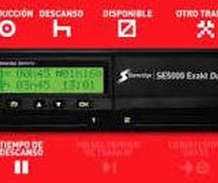 Tacografo Digital Stoneridge 12 y 24V con REGLA del MINUTO
