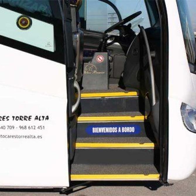 Garantías de los viajeros en autobús