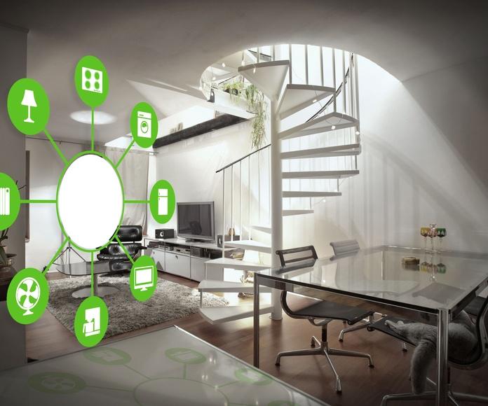 Instalaciones domóticas: Servicios de Fonelektrika