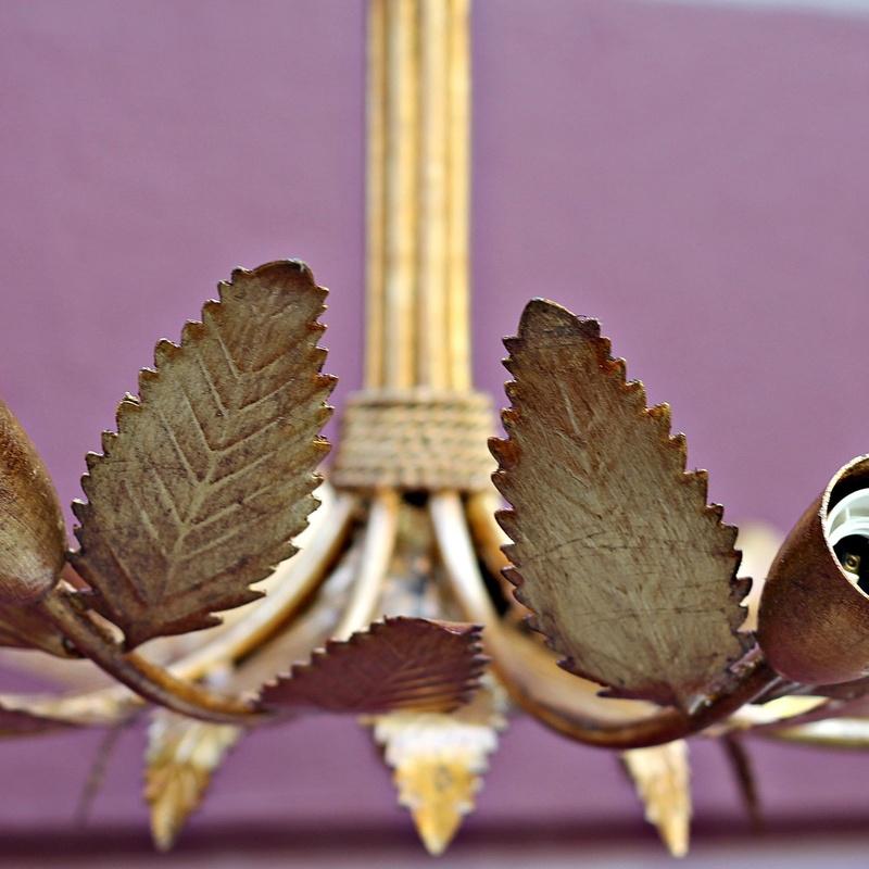 Lámpara FERROART de los años 60 restaurada:  de Ruzafa Vintage