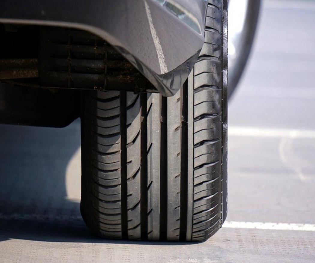 La presión en los neumáticos