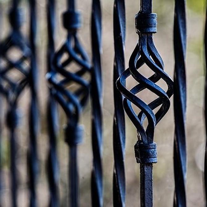 Estética y protección gracias a las barandillas de forja